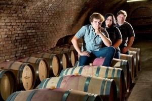 Family Forstreiter in the cellar