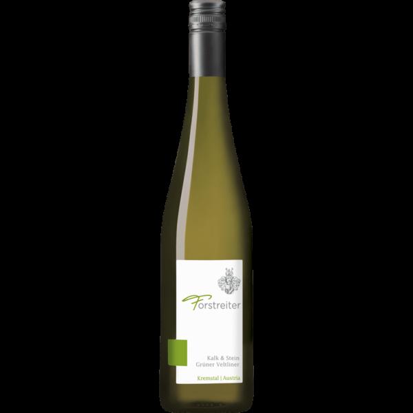 Flasche Forstreiter Grüner Veltliner Kalk und Stein