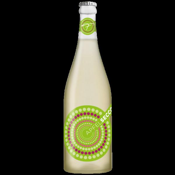 Apfelsecco Flasche von Forstreiter