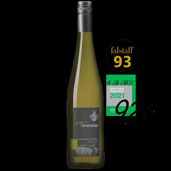 GV-Ried-Schiefer-Auszeichnung Flasche von Forstreiter
